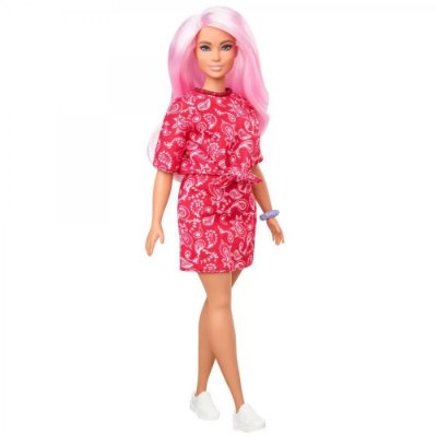 Barbie Fashionista Vestido Red 151 - Mattel