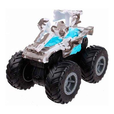 Monster Trucks Bash-Ups Hot Wheels - Invader - Mattel