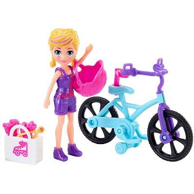 Polly Pocket - Aventura na Bicicleta - Mattel