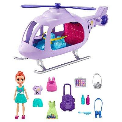 Polly Pocket Helicóptero de Aventura - Mattel