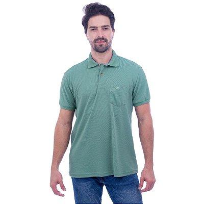 Camisa Polo Masculina - Verde Mineral 697 - Wayna