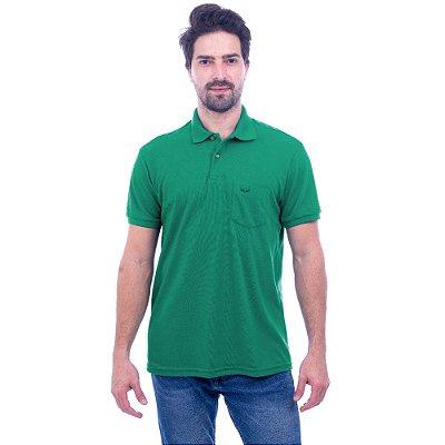 Camisa Polo Masculina - Verde Aqua 683 - Wayna
