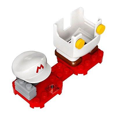 Super Mario Fogo - Power Up - Lego