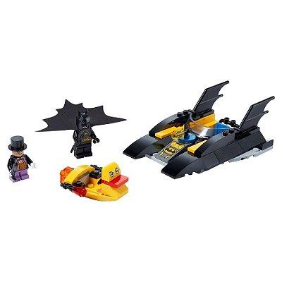 Super Heroes DC - Perseguição ao Pinguim no Batbarco - Lego