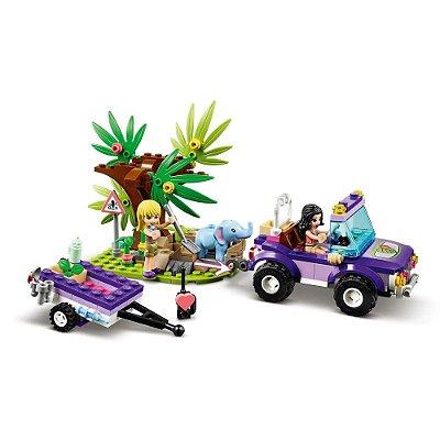 Lego Friends - Resgate na Selva do Filhote de Elefante - Lego