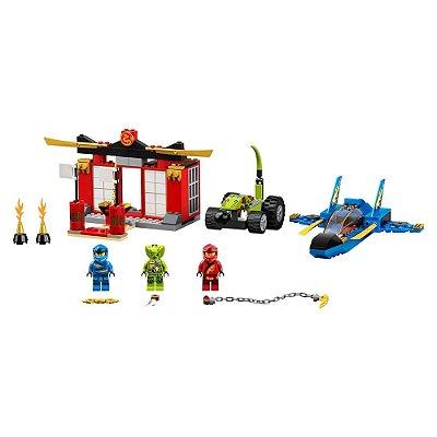 Lego Ninjago - Batalha Lutador da Tempestade - Lego