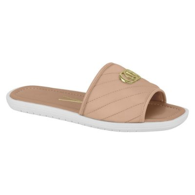 Chinelo Slide Casual Nude - Vizzano