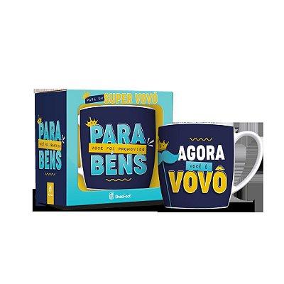 Caneca Porcelana Urban - Promovido a Vovô - Brasfoot