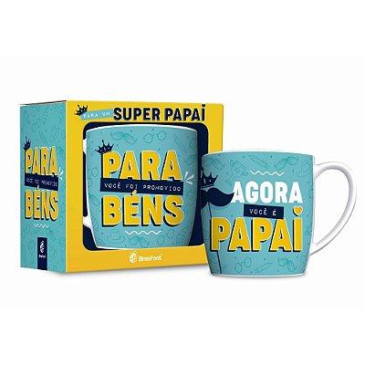 Caneca Porcelana Urban - Promovido a Papai - Brasfoot