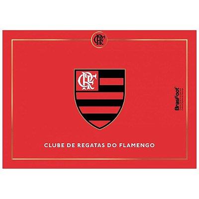 Tábua de Vidro 25 x 35cm - Flamengo - Brasfoot