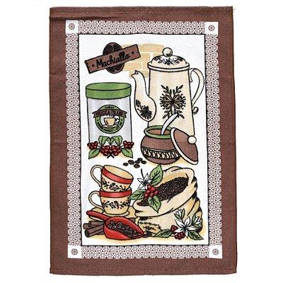 Pano de Copa Felpudo - Coffee - Döhler