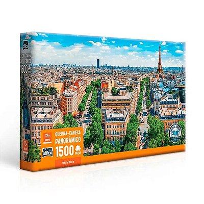 Quebra Cabeça Panorâmico Belle Paris - 1500 peças - Game Office