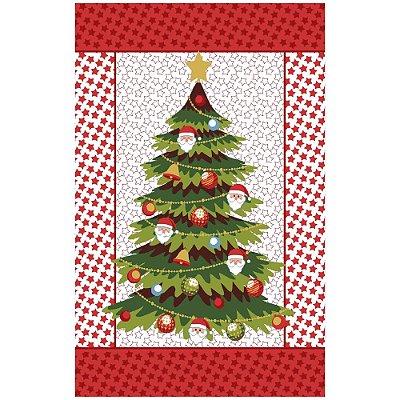 Pano de Copa Felpudo Natal - Árvore de Natal - Lepper