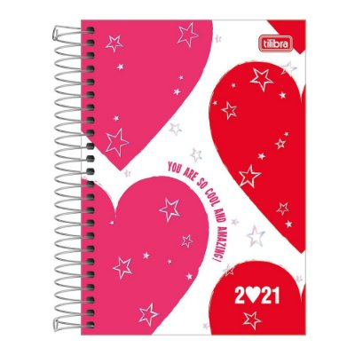 Agenda Planner Love Pink 2021 - You Are So Cool - Tilibra
