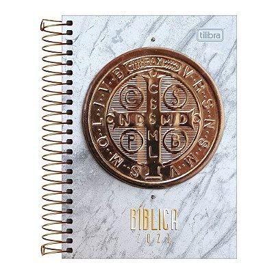 Agenda Diária Bíblica 2021 - Medalha de São Bento - Tilibra