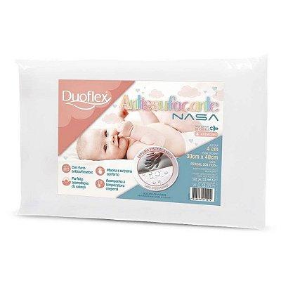 Travesseiro Antisufocante Impermeável Nasa - Duoflex