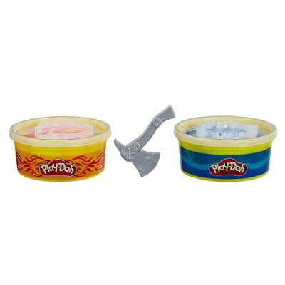 Conjunto Play-Doh Wheels Massa de Contrução - Água e Fogo - Hasbro