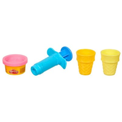 Kit Play Doh Mini Ferramenta Sorvetes - Hasbro