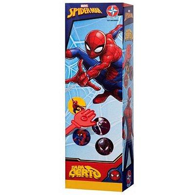 Jogo Tapa Certo Homem Aranha - Estrela
