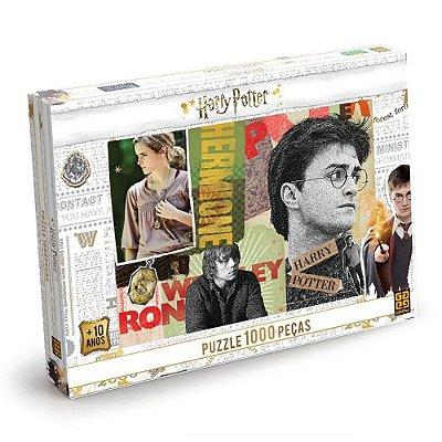 Quebra-Cabeça Harry Potter - 1000 Peças - Grow