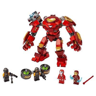 Lego Avengers - Homem de Ferro Hulkbuster x Agente A.I.M - Lego