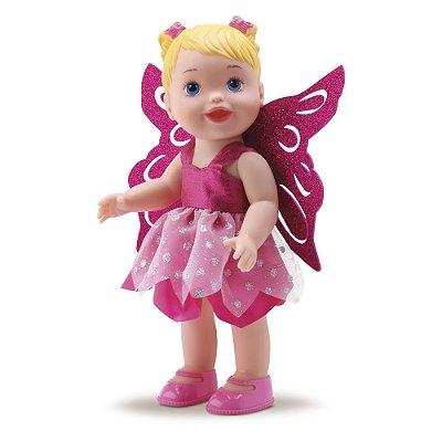 Boneca My Little Collection Fadas - Rosa - Diver Toys