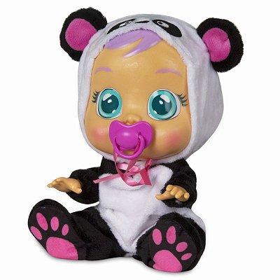 Boneca Cry Babies Pandy Panda - Multikids