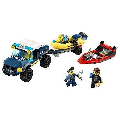 Lego City - Transporte de Barco da Polícia Elite - Lego