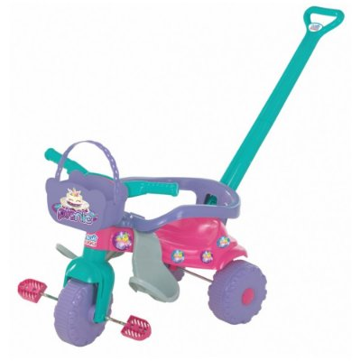 Triciclo Tico-Tico Pic Nic - Rosa - Magic Toys
