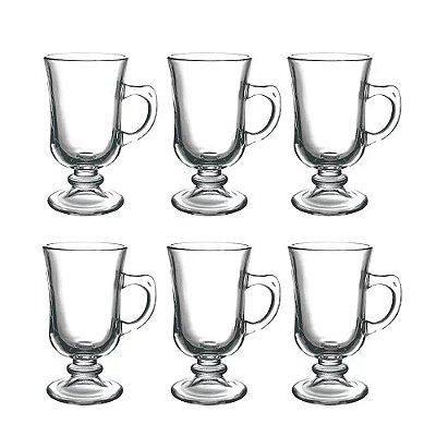 Jogo de Xícaras Irish Coffee 230ml - 6 Peças - Dynasty