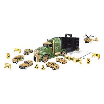 Caminhão Maleta Militar - DM Toys