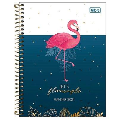 Agenda Planner Aloha Flamingo - 2021 - Tilibra