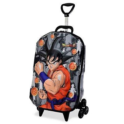 Mochila com Rodinha 3D - Dragon Ball Super Goku - Diplomata