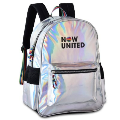Mochila Holográfica Oficial Now United - Clio Style