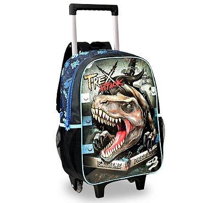 Mochila com Rodinha Dino - T-Rex Attack - Clio Style