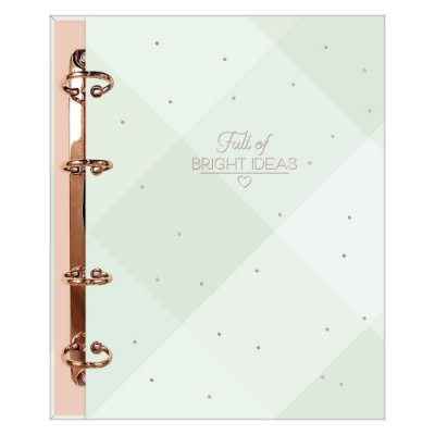 Caderno Argolado Colegial Bright Ideas - 160 Folhas - Tilibra