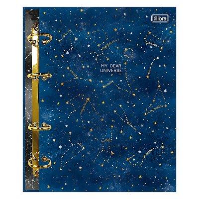 Caderno Argolado Colegial Magic Universe - 160 Folhas - Tilibra