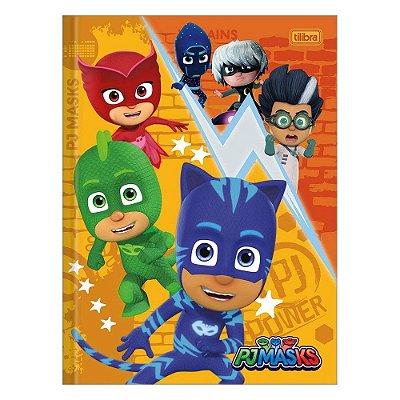 Caderno Brochura Pj Masks - Personagens - Tilibra