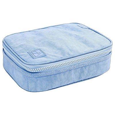 Estojo Box Académie Azul Pastel - Tilibra