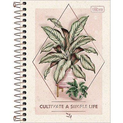 Caderno Naturalis - Folhagem - 80 Folhas - Tilibra