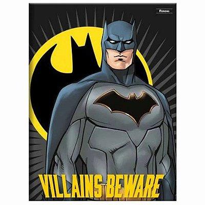 Caderno Brochura Batman - 96 Folhas - Foroni