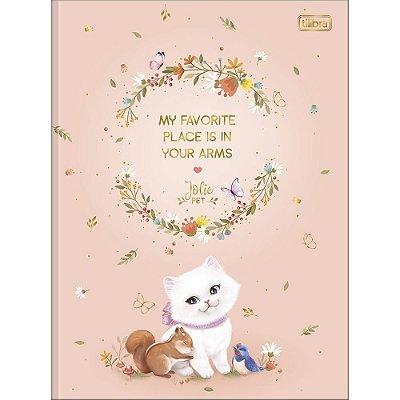 Caderno Brochura Jolie Pet - Favorite - 80 Folhas - Tilibra