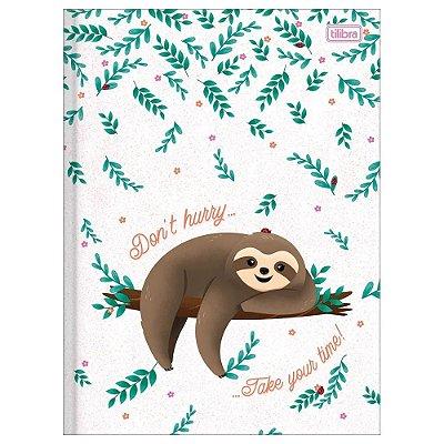 Caderno Brochura Nap Nap - Branco - Tilibra