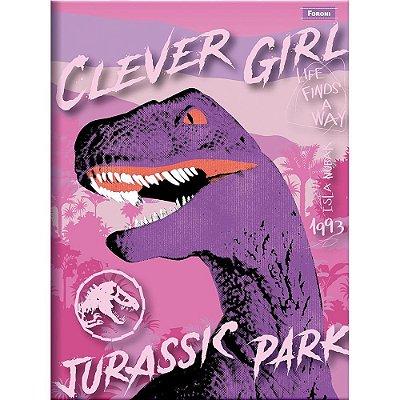 Caderno Brochura Jurassic World - Clever - Foroni