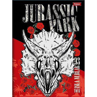 Caderno Brochura Jurassic World - Isla Nublar - Foroni
