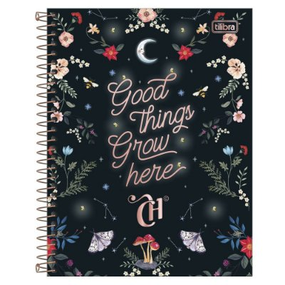Caderno Colegial Capricho - Good Things - 80 Folhas - Tilibra