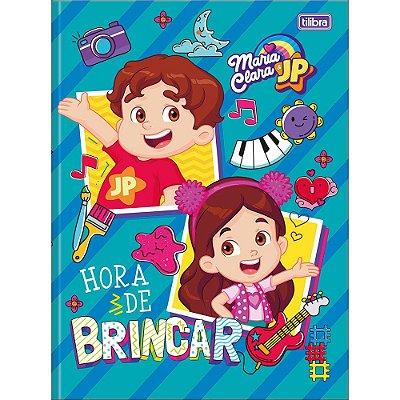Caderno Brochura Maria Clara e JP - Hora de Brincar - 80 Folhas - Tilibra