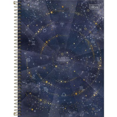 Caderno Magic - Horoscope - 10 Matérias - Tilibra