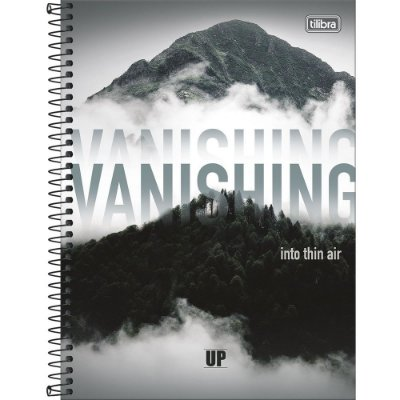 Caderno UP - Vanishing - 10 Matérias - Tilibra
