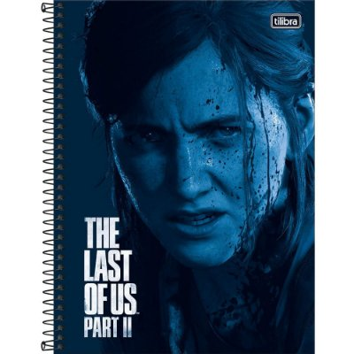 Caderno The Last Of Us Part II - Ellie - 10 Matérias - Tilibra